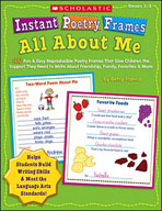 Instant Poetry Frames: All About Me (Enhanced eBook)