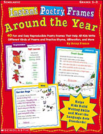 Instant Poetry Frames: Around the Year (Enhanced eBook)
