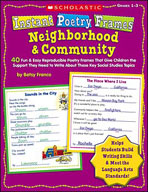 Instant Poetry Frames: Neighborhood and Community (Enhance