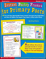 Instant Poetry Frames for Primary Poets