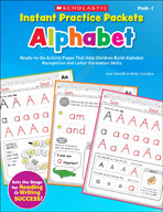 Instant Practice Packets: Alphabet (Enhanced eBook)
