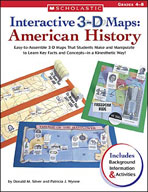 Interactive 3-D Maps: American History (Enhanced eBook)