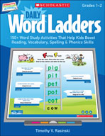 Interactive Whiteboard Activities: Daily Word Ladders Grades 1-2 (Promethean Version)