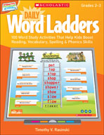 Interactive Whiteboard Activities: Daily Word Ladders Grades 2-3 (Promethean Version)