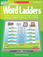 Interactive Whiteboard Activities: Daily Word Ladders Grades 4-6 (Promethean Version)