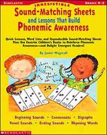 Irresistible Sound-Matching Sheets and Lessons That Build Phonemic Awareness