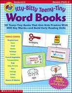 Itty-Bitty Teeny-Tiny Word Books (Enhanced eBook)