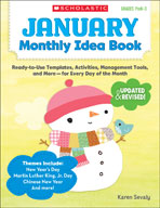 January Monthly Idea Book (Enhanced eBook)
