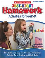 Just-Right Homework Activities for PreK-K (Enhanced eBook)