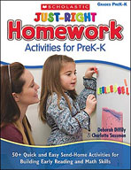 Just-Right Homework Activities for PreK-K (Enhanced eBook)