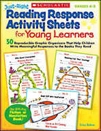 Just-Right Reading Response Activity Sheets for Young Lear