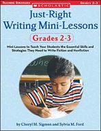 Just-Right Writing Mini-Lessons: Grades 2-3 (Enhanced eBook)