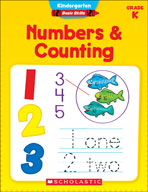 Kindergarten Basic Skills: Numbers and Counting