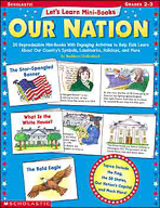 Let's Learn Mini-Books: Our Nation