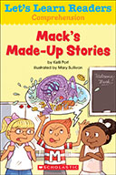 Let's Learn Readers™ Comprehension: Mack's Made-Up Stories (Enhanced Ebook)