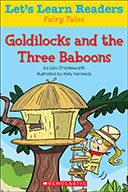 Let's Learn Readers™ Fairy Tales: Goldilocks and the Three Baboons (eBook)