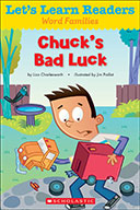Let's Learn Readers™ Word Families: Chuck's Bad Luck (eBook)