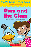Let's Learn Readers™ Word Families: Pam and the Clam (eBook)