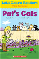 Let's Learn Readers™ Word Families: Pat's Cats (eBook)