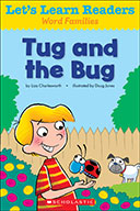 Let's Learn Readers™ Word Families: Tug and the Bug (Enhanced Ebook)