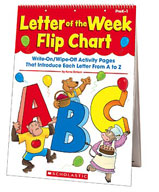 Letter of the Week Flip Chart (Enhanced eBook)