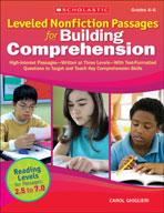 Leveled Nonfiction Passages for Building Comprehension (En