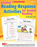 Leveled Reading-Response Activities for Guided Reading (Enhanced eBook)