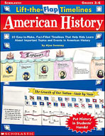 Lift-the-Flap Timelines: American History (Enhanced eBook)