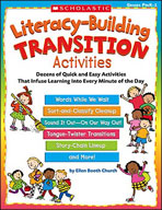 Literacy-Building Transition Activities (Enhanced eBook)
