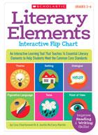 Literary Elements Interactive Flip Chart
