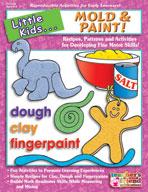 Little Kids . . . Mold and Paint! (Enhanced eBook)