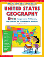 Maps for the Overhead: United States Geography (Enhanced eBook)