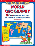 Maps for the Overhead: World Geography (Enhanced eBook)