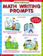 Marvelous Math Writing Prompts (Enhanced eBook)