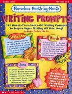 Marvelous Month-By-Month Writing Prompts
