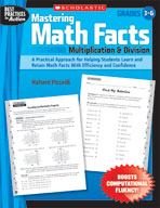 Mastering Math Facts: Multiplication and Division (Enhanced eBook)