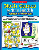 Math Games to Master Basic Skills: Addition & Subtraction (Enhanced eBook)