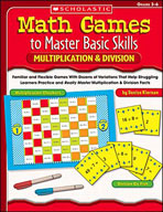 Math Games to Master Basic Skills: Multiplication & Division (Enhanced eBook)