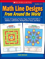 Math Line Designs From Around the World: Grades 2-3