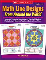 Math Line Designs From Around the World: Grades 4-6
