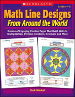 Math Line Designs From Around the World: Grades 4-6 (Enhanced eBook)