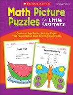 Math Picture Puzzles for Little Learners (Enhanced eBook)