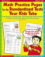 Math Practice Pages for the Standardized Tests Your Kids Take (Enhanced eBook)