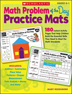 Math Problem of the Day Practice Mats