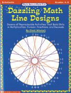 Math Skills Made Fun: Dazzling Math Line Designs (4-5)