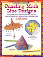 Math Skills Made Fun: Dazzling Math Line Designs: Grades 2-3