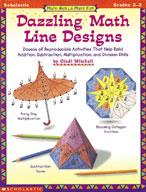 Math Skills Made Fun: Dazzling Math Line Designs: Grades 2-3