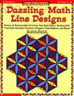 Math Skills Made Fun: Dazzling Math Line Designs: Grades 6-8