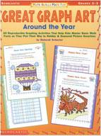 Math Skills Made Fun: Great Graph Art Around the Year (Enhanced eBook)