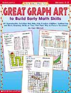 Math Skills Made Fun: Great Graph Art to Build Early Math Skills